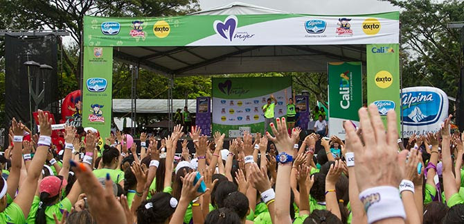 7000 caleñas correrán este domingo la Carrera de la Mujer