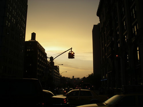 Sunset in Soho