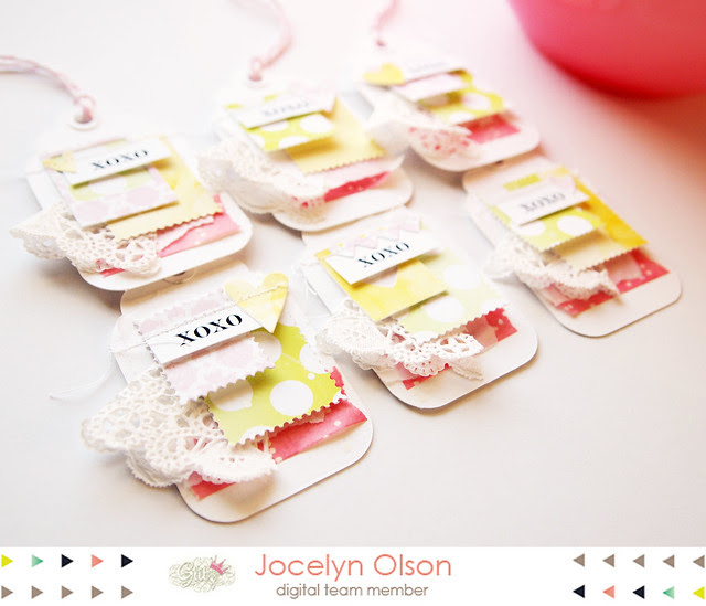 Spring Love Tags