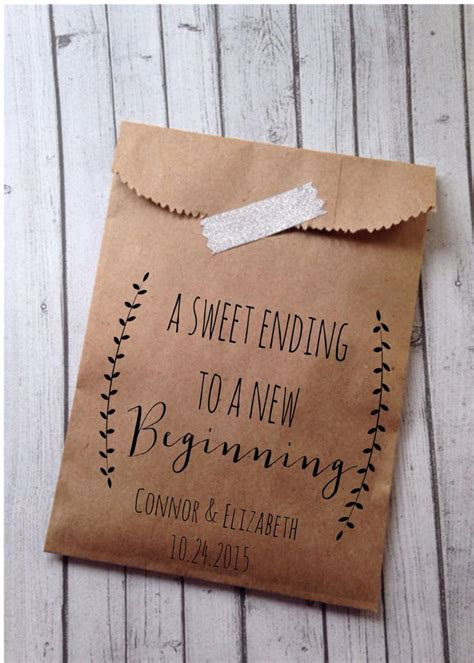 Best 25  Wedding favor bags ideas on Pinterest   Candy