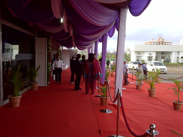 Friends, Invitees & property buyers at the launch of Amit's Sereno, 2 BHK & 3 BHK Flats near Pancard Clubs, Baner Pune 411045