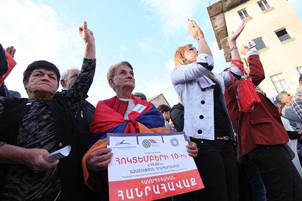 "No Maidan for Armenia: Anti-Russian rhetoric not ""on agenda"" of Yerevan rally"