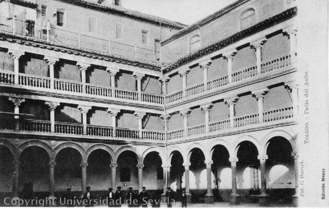 San Pedro Mártir. Fototeca universidad de Sevilla