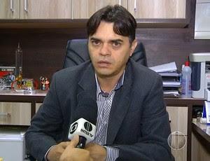 Bira Marques - vice-presidente de futebol do ABC (Foto: Reprodução/Inter TV Cabugi)