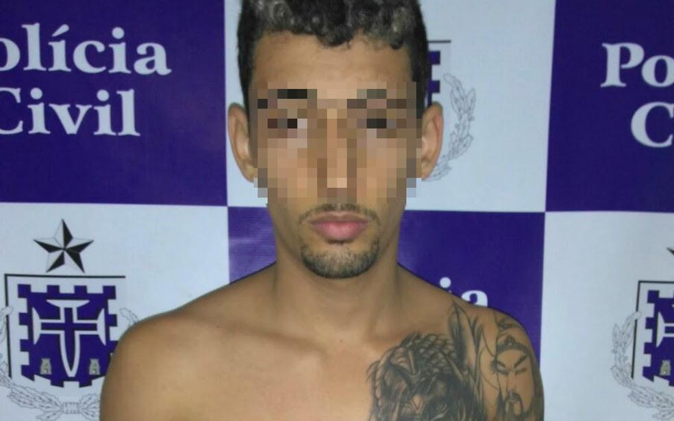 Suspeito de matar usuário de drogas por conta de dívida de R$ 100 foi preso (Foto: Divulgação/Polícia Civil)