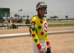 Jockey Daniel Centeno