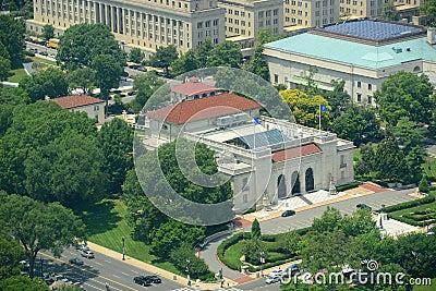 Construção de OAS no Washington DC, EUA