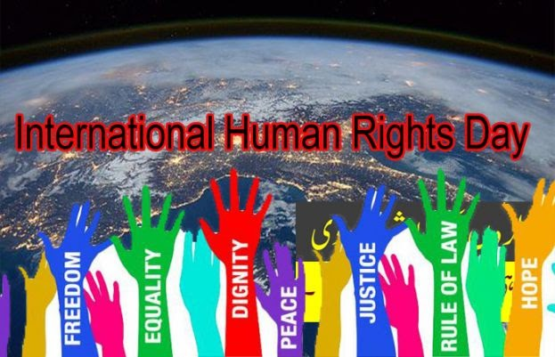 Human rights day being celebrated all around the world today