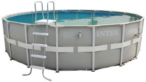 Avis intex 54452 piscine 39 39 deluxe frame 39 39 488 122 cm set for Acheter piscine intex