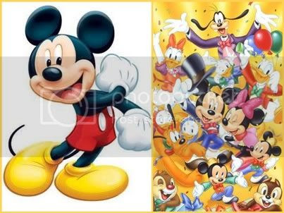 Micket Mouse and Disney World