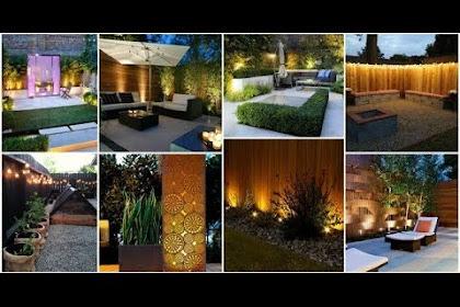 Garden Fence Lighting Ideas