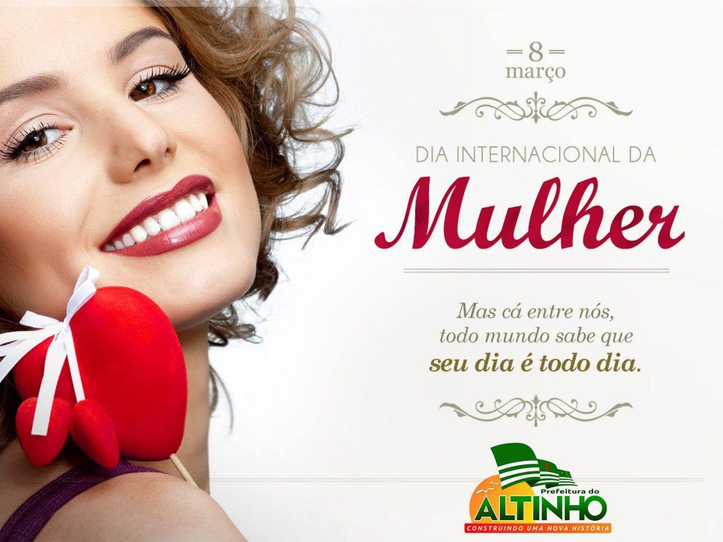 Prefeitura Do Altinho 8 De Marco Dia Internacional Da Mulher