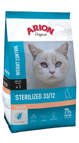 Cat Original Sterilized Salmon