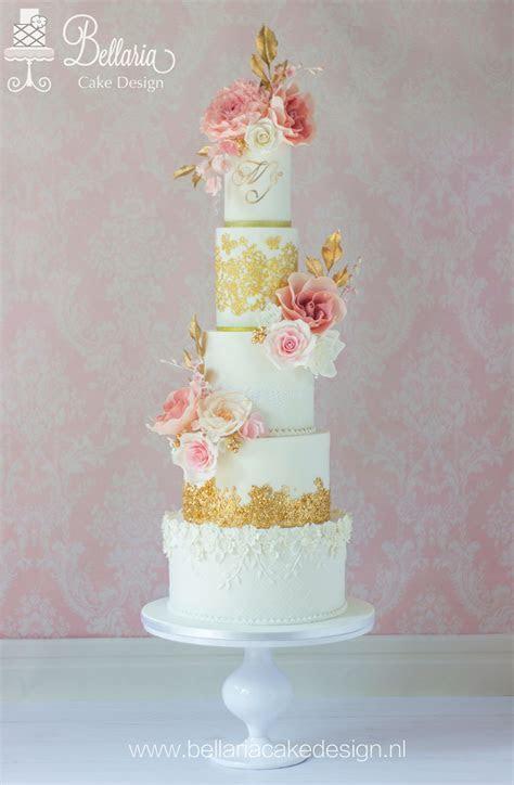 Romantic Wedding Cake   CakeCentral.com