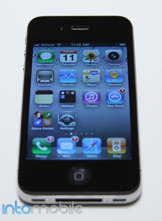 iphone 4g verizon. Verizon iPhone 4: Consistent