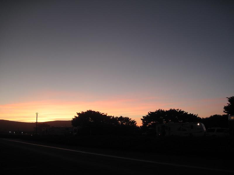 Sunset in Bodega Bay
