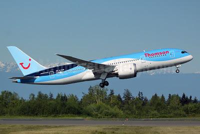 Thomson Airways Boeing 787-8 Dreamliner G-TUIB (msn 34423) PAE (Nick Dean). Image: 912005.