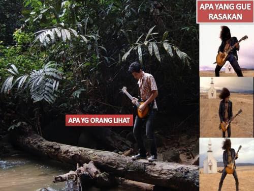 Khayalan seorang gitaris..