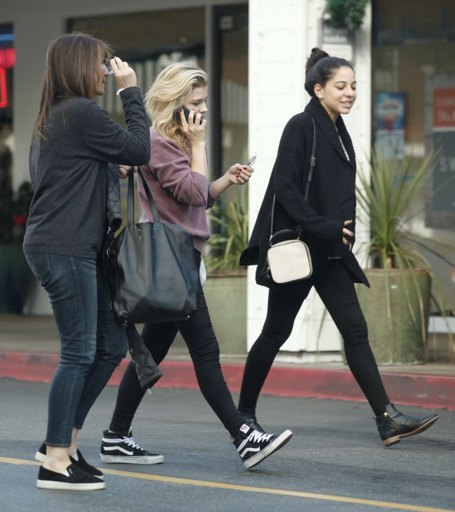 Chloe Moretz Out in LA -05