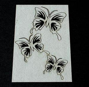 Marianne's Butterflies (unit of 3)