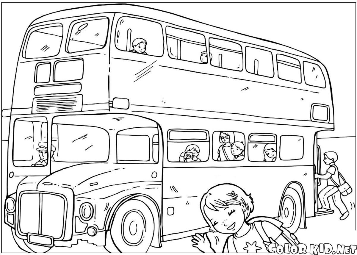 ぬりえ 首都圏バス