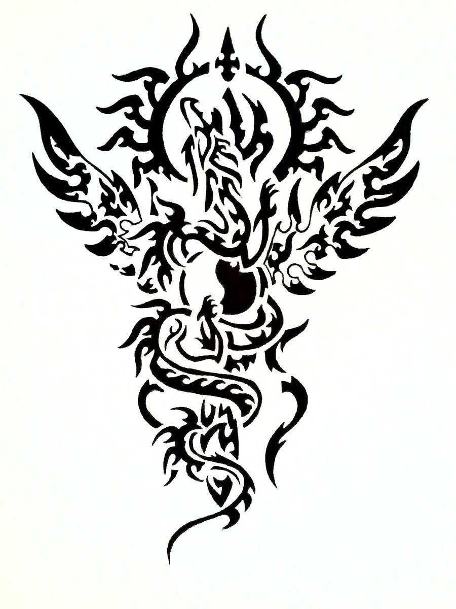 Free Black And White Tattoo Drawings Download Free Clip Art Free