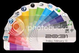 color Theme đẹp dành cho BlackBerry 83xx và 87xx