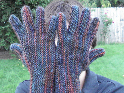 Garter Stitch Gloves