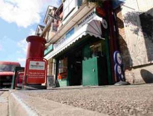 ACCIDENT SCENE: Boscombe East Post Office