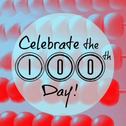 100 Days of School Landing Page