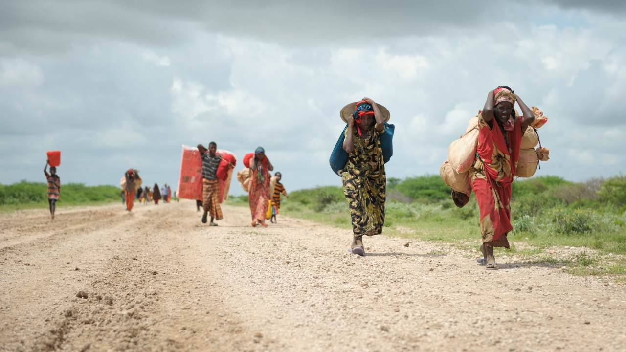 Escalating violence and the expansion of extremist groups in Ethiopia, Mozambique and Burkina Faso along with drawn-out conflicts like those in Syria, Afghanistan and the Democratic Republic of Congo continue to force large numbers of people to flee. Image credit: Flickr/UN Photo/Tobin Jones