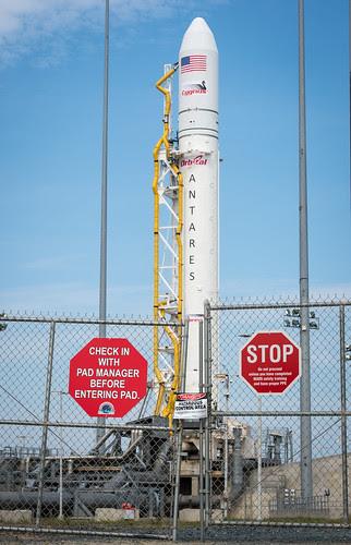 Antares Rocket Preparation (201304190003HQ) by nasa hq photo