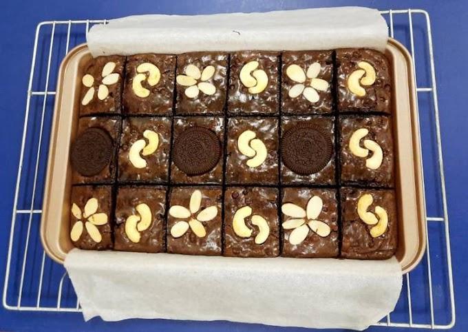 Resep Membuat Brownies Coklat Lumer Panggang Paling Mudah Terbaru