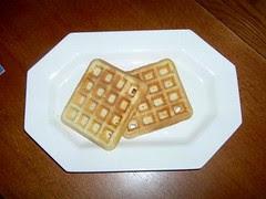 Rice Krispie Waffles