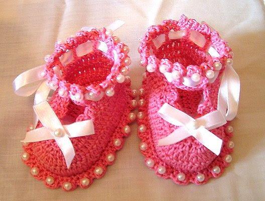 Pink booties (528x400, 59Kb)