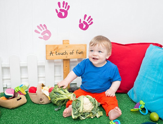 How does it work? 'If you can involve your little ones in the food preparation process, such as giving them veggies and fruits to play with, it will make them more engaged from the start,' explained Consultant Infant Nutritionist Claire Baseley