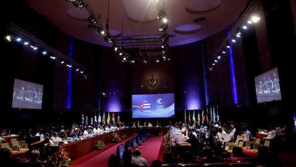 Inaugura Raúl Castro V Cumbre Caricom-Cuba. Foto: Ismael Francisco/ Cubadebate
