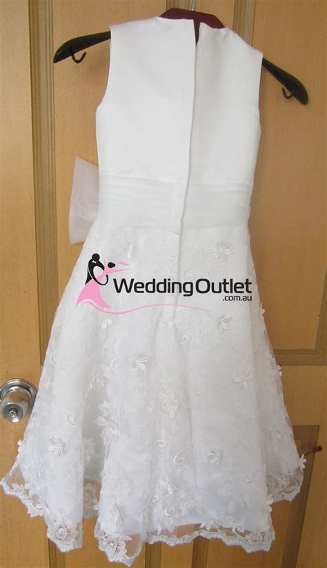 Flower Girl Dresses with sash   Weddingfactoryoutlet.co.uk