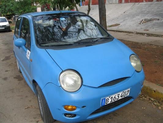 Auto de los CDR Dirección Nacional, chapa estatal (foto del autor)