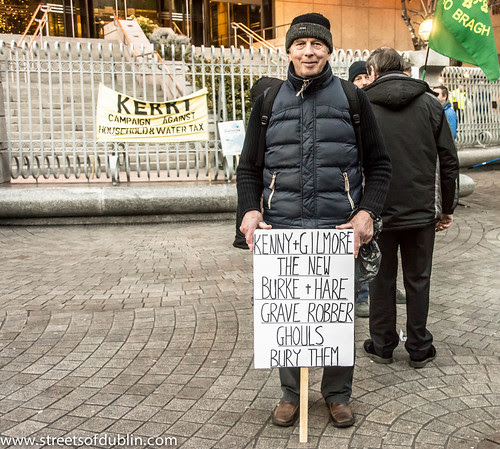 Protest: Budget Day Demonstration In Dublin (5th. December 2012) by infomatique