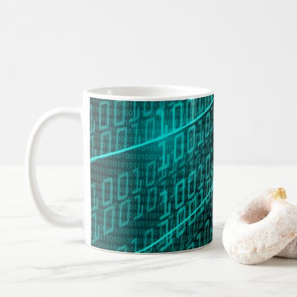 IT programming computer binary code programmer Coffee Mug