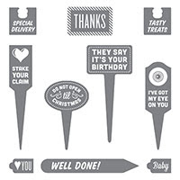 Stake Your Claim Wood-Mount Stamp Set by Stampin' Up!