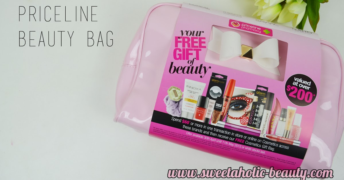 38ec68a1675 Priceline Beauty Bag 2015 | Sweetaholic Beauty