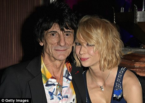 Controversial: Ronnie broke up with his wife Jo in 2008 for then 18-year-old Ekaterina Ivanova