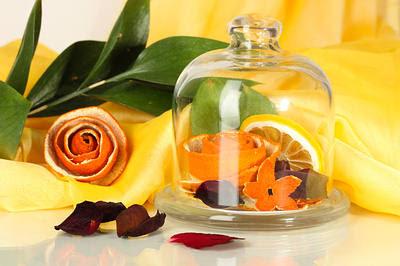 orange peels as air freshener