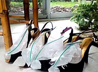 советы  как разносить новую узкую  обувь