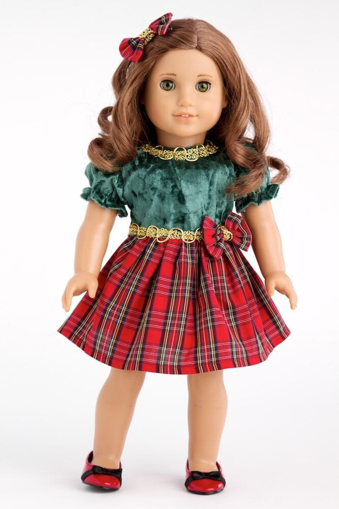 christmas classic  clothes for 18 inch american girl doll