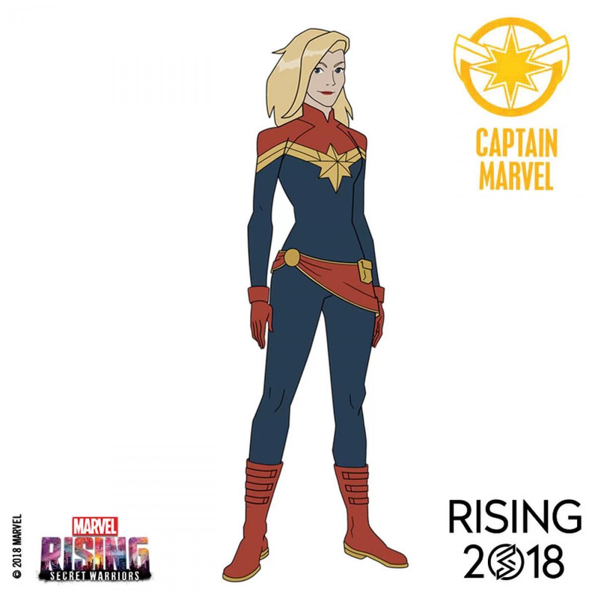 Man 1 Film Captain Marvel Dessin Anime