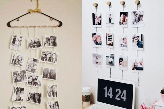40+ Trend Terbaru Ide Menghias Kamar Dengan Foto Polaroid ...
