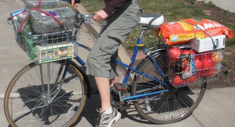 Grocery bike